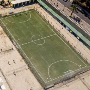 Vista Campo dal drone